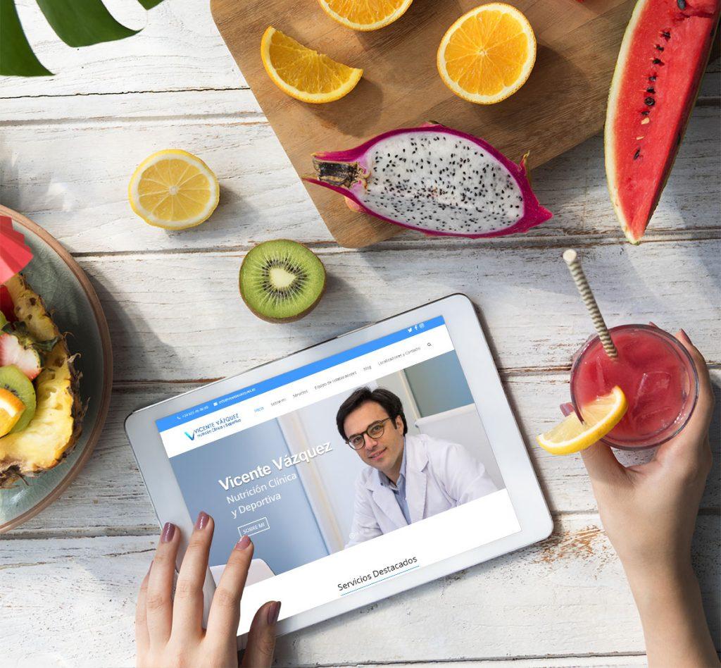 Consultas de nutrición, diétetica y adelgazamiento, pérdida de peso | Vicente Vázquez, nutricionista